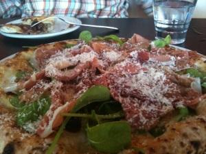 Arugala & Pancetta Pizza